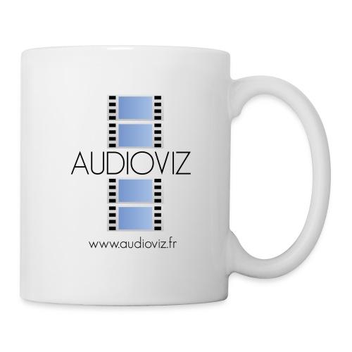 Tee-shirt Audioviz - Mug blanc