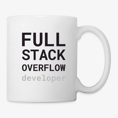 Full stack overflow developer - Mug