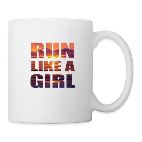 run like a girl @RUNNINGFORCE - Tasse