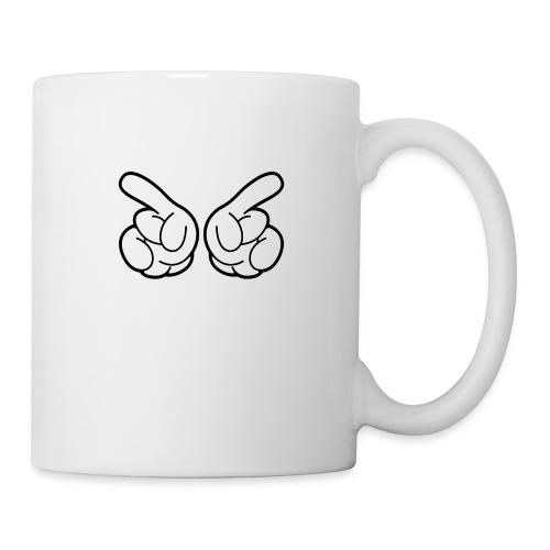 Main cool - Mug blanc