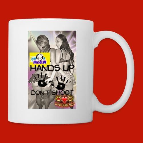 Handzup will never di sw jpg - Tasse