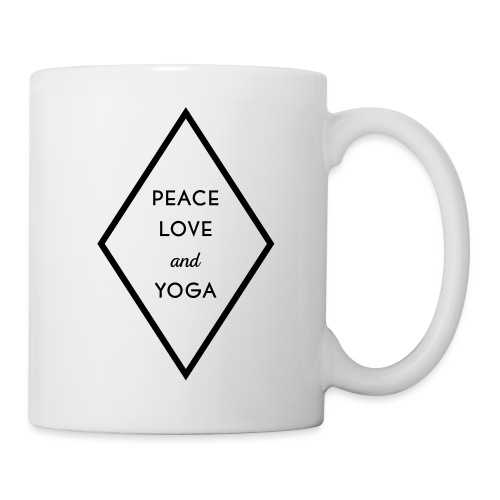 Peace Love & Yoga - Tasse