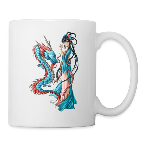 Blue Dragon - Mug blanc