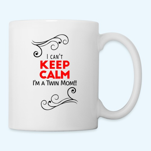 I Can't Keep Calm (voor lichte stof) - Mok