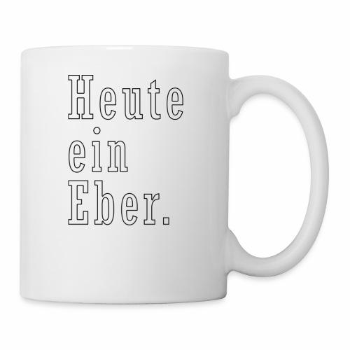 heute ein eber - Tasse