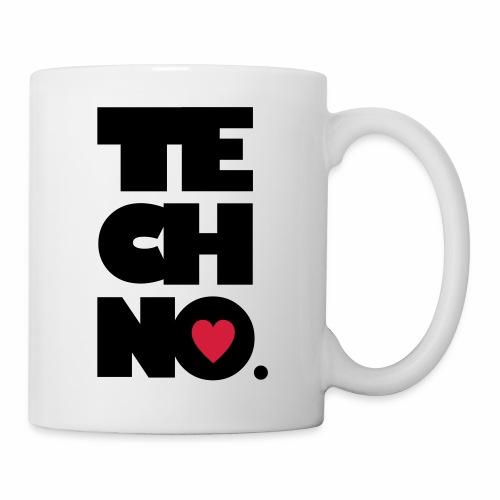 Techno Herz - Tasse