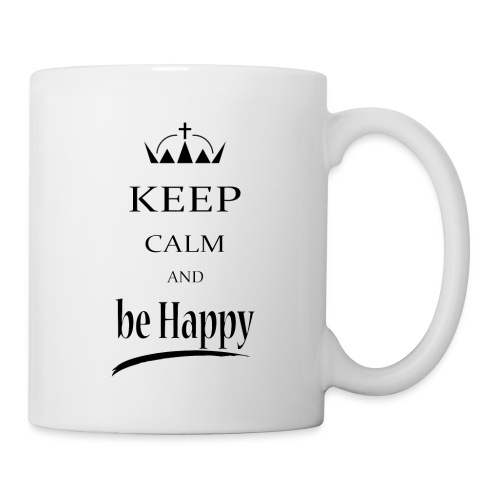keep_calm and_be_happy-01 - Tazza
