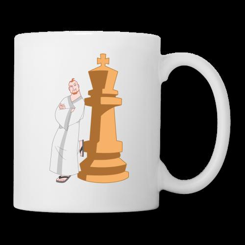 Samurai with King - Mug