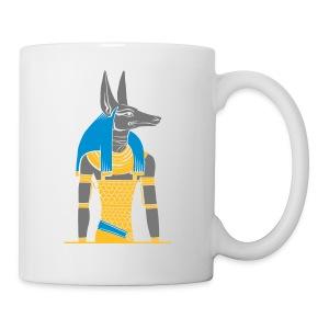 Der altägyptische Gott Anubis - Tasse