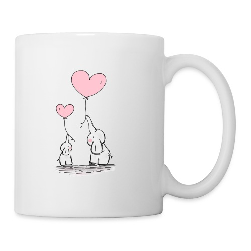 cute elephants - Mug