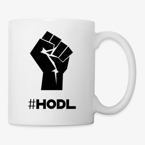 HODL-fist-b - Mug