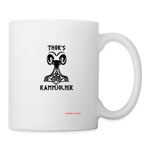 THOR's-RAMMjolnir - Mug blanc