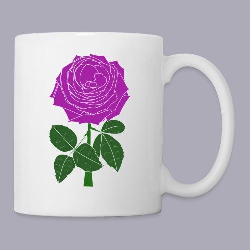Landryn Design - Pink rose - Mug