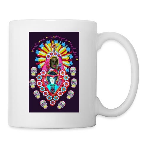 Frida Kahlo inspired Mexican art - Mug