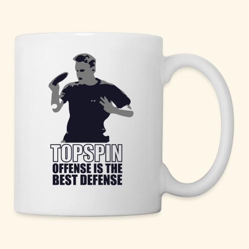 Good slashing serve table tennis - Tasse