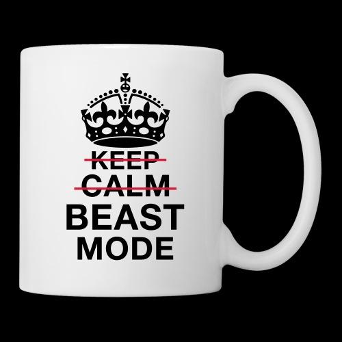 KeepCalm BeastMode - Tasse