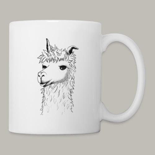 Lama - Mug blanc
