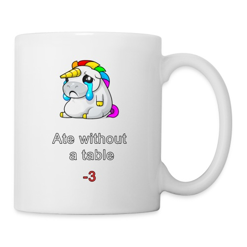Ate without a table! - Mug
