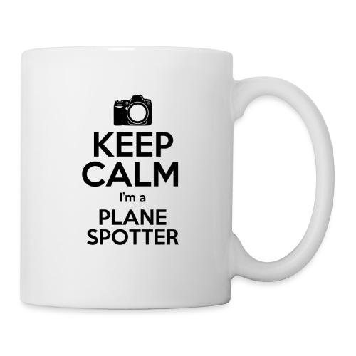 Keep Calm PlaneSpotter - Tazza