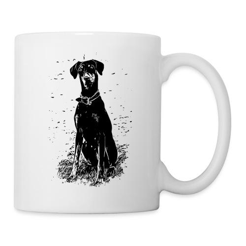 Dobermann Hunde - Tasse