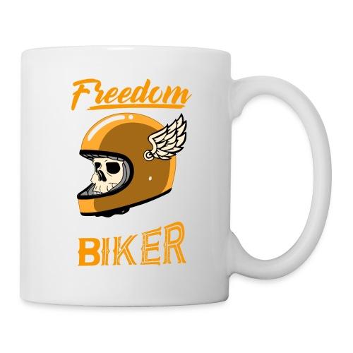 freedom willys workshop - Mug blanc