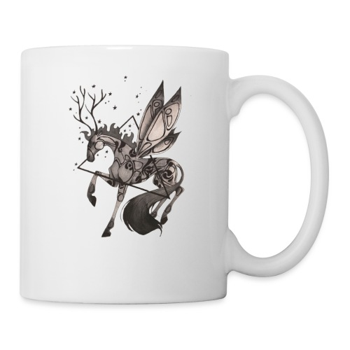 Dragonfly Horse - Ink Collection - Taza