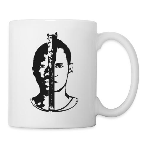 Frères - Black & white  - Mug blanc