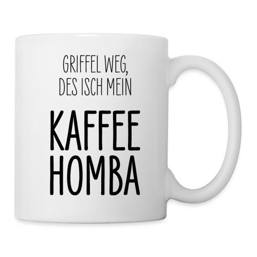 Kaffee Tasse Geschenk Schwäbisch Schwaben - Tasse