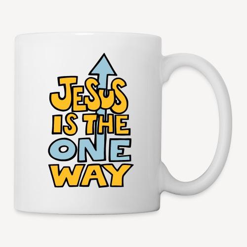 JESUS IST DER EINE WEG - Tasse