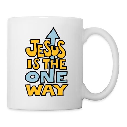 JESUS IS THE ONE WAY - Mug