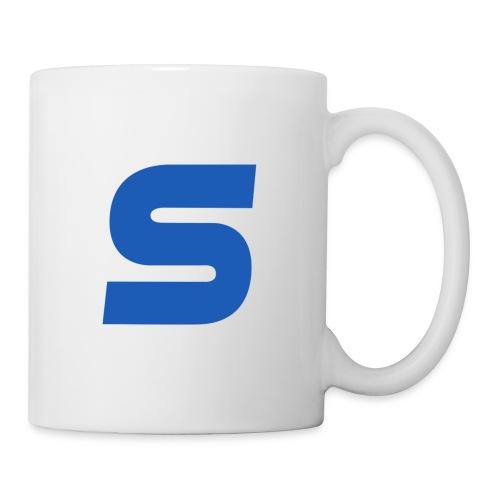 logo simple 2 0 Grand format - Mug blanc
