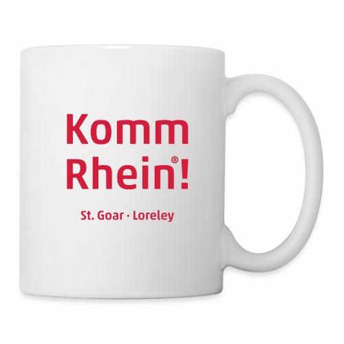 Komm Rhein! St. Goar · Loreley - Tasse