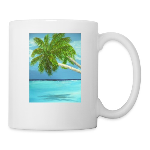 Lätzchen Palme - Tasse