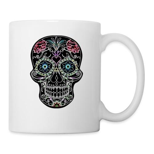 Floral Skull - Mug