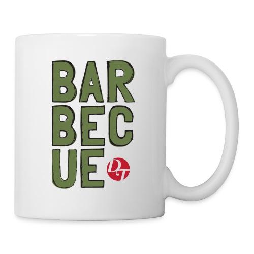 dt barbecue folk sketchsolid towertee 01 - Mug blanc