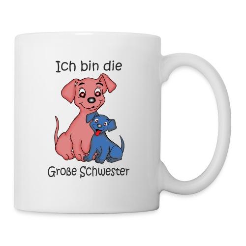 Ich Bin Die Grosse Schwester Puppy B - Mug