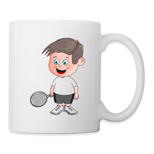 Junger Tennisspieler - Tasse