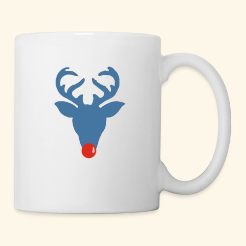 Rudolf meets Rode Neuzen Dag - Mug blanc