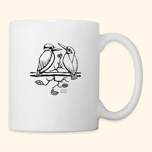 Eisvogel Liebe - Tasse