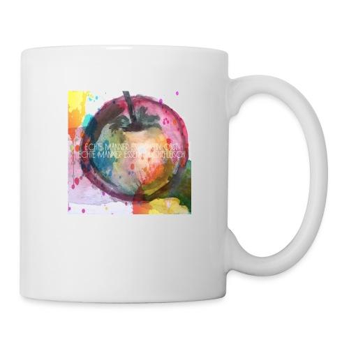 Apfel mit Aufschrift - Tasse
