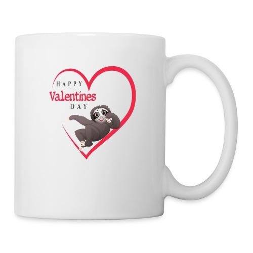 Sloth Valentines Day - Tasse