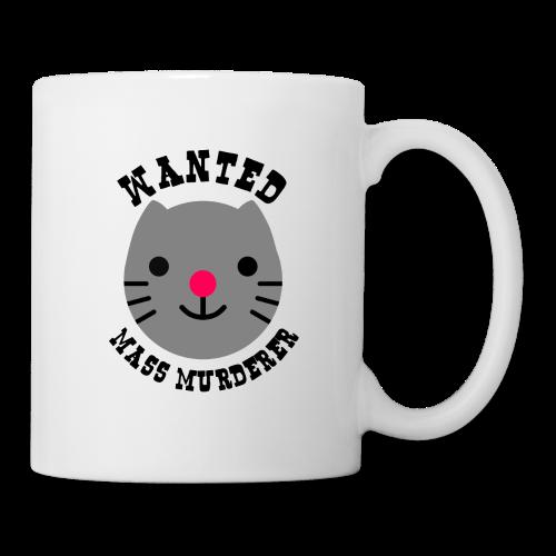 Wanted cat - Mug blanc
