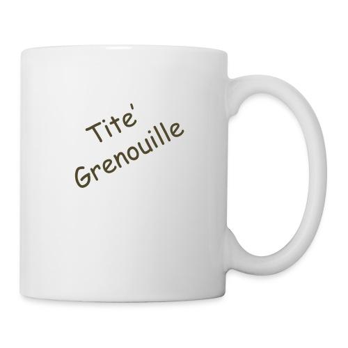 titgrenoui log - Mug blanc