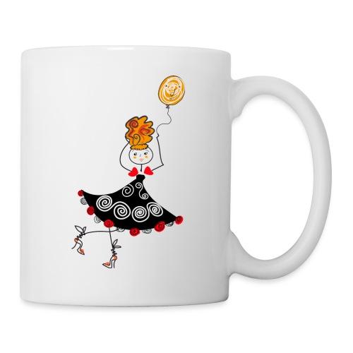 Ballerina con palloncino - Tazza