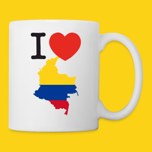 I love Colombia - Tazza