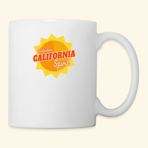 California Spirit Radioshow - Mug blanc