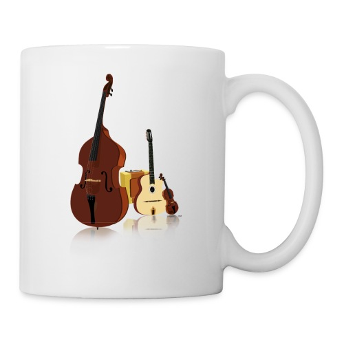 swing manouche - Mug blanc
