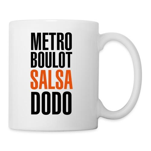 metro - Mug blanc