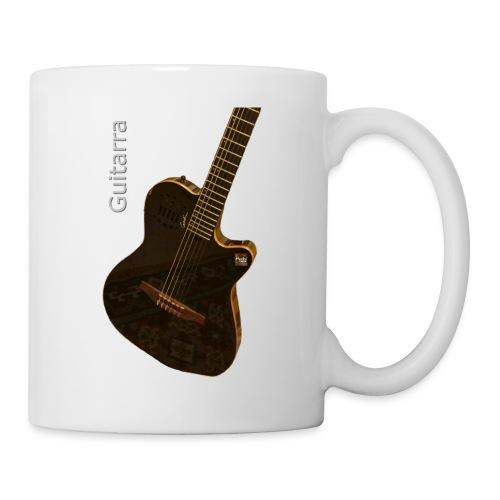 Guitarra inclinada - Taza