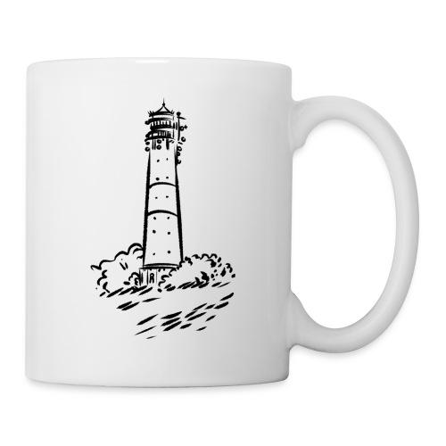 Leuchtturm Hörnum Sylt Art Design - Tasse